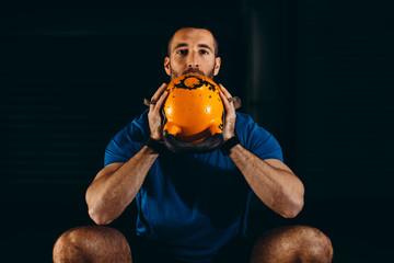 Man Enjoying Fitness