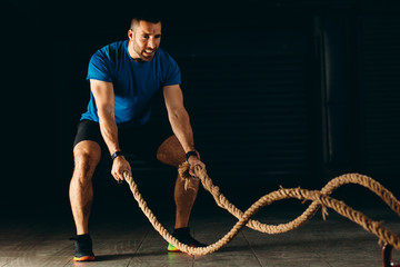 Training with rope