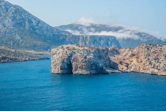 jazirat laila belyounech fnidak morocco island in the sea
