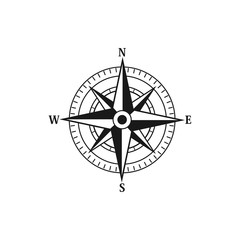 Compass navigation logo icon vector templates