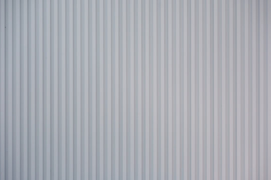 White steel outer wall background