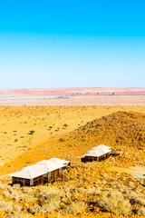 Papiers peints Orange Amazing landscapes of Namibia, in Africa