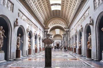 Interiors of Vatican museum