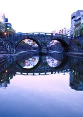 Foto auf Leinwand London roten bus 眼鏡橋