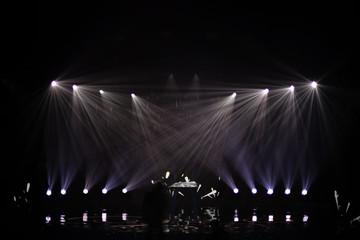 rays of light illuminate the scene Fototapete