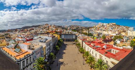 Wall Mural - Panoramic view of Las Palmas, Gran Canaria, Canary Islands, Spain