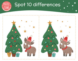 Christmas Time: Spot the Difference