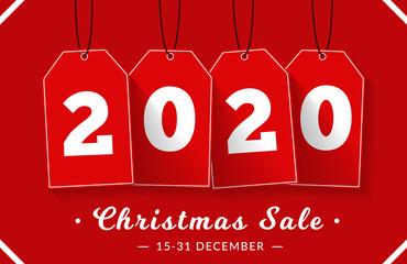 Papier Peint - Christmas Sale Banner