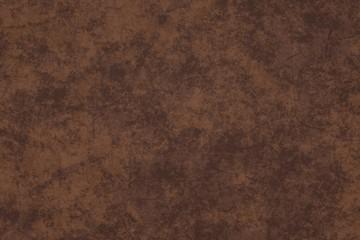 Photo studio portrait background. Painted scratch texture dark brown, orange, rust. 3D rendering