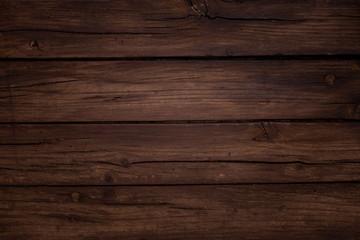 Bonita composicón navideña sobre fondo marrón de madera