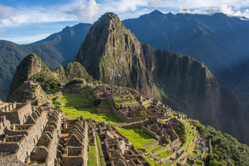 Machu Picchu in Peru is one of the New Seven Wonders of the World