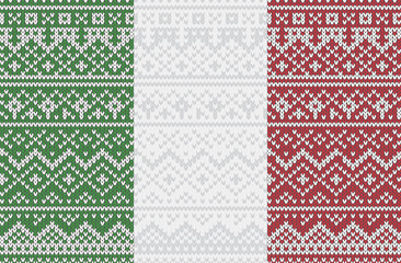 eps Vector image:Italian knit pattern
