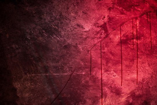 Horror Themed Image Of A Scary, Zombie, Halloween background
