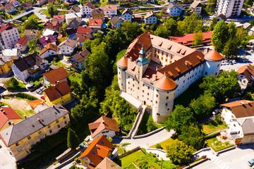 Small Slovenian town Idrija Fototapete