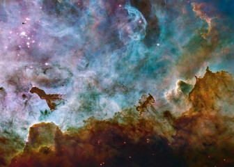 Wall Murals Nasa Carina Nebula star birth. Science fiction wallpaper. Elements of this image were furnished by NASA.