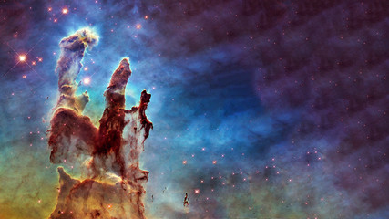 Foto op Plexiglas Nasa Somewhere in deep space. Carina Nebula star birth. Science fiction wallpaper. Elements of this image were furnished by NASA.