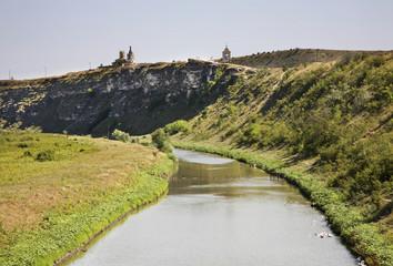 View of Old Orhei. Moldova