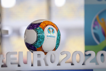 The 2020 UEFA European Football Championship 2020 logo and official ball