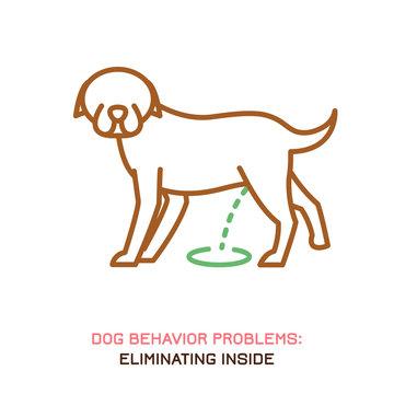 Dog Behavior Problem Icon