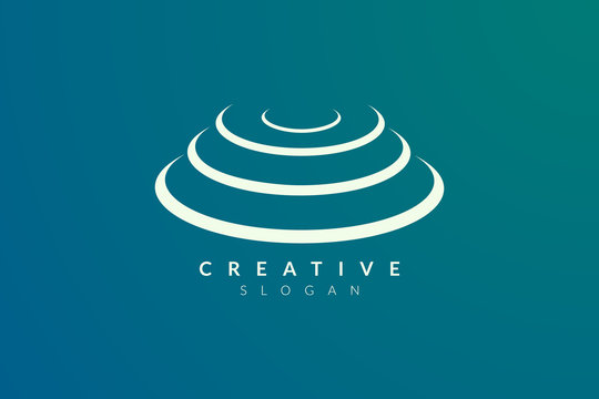 Stage logo design. Minimalist and modern vector illustration design suitable for community, business, and product brands