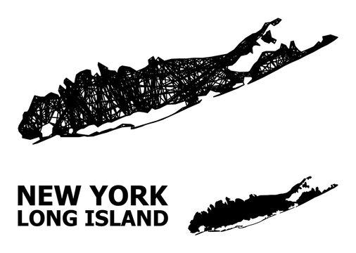 Carcass Map of Long Island