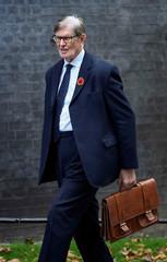 Conservative MP Bill Cash walks outside Downing Street in London