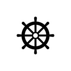Rudder icon trendy