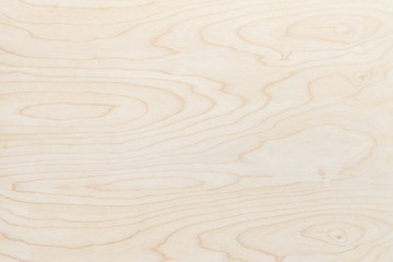 Natural beige wood texture background. Wavy textured plywood, a lot of fiber and small chips, close-up abstract tree background for design, decor and skins Wall mural