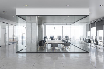 Fotomurales - Modern concrete office interior