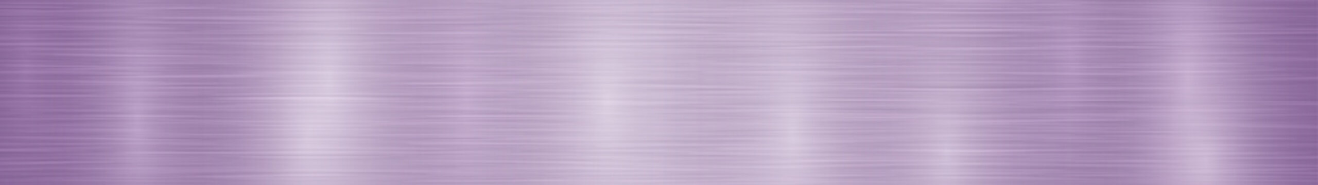 Abstract horizontal metal banner or background with glares in light purple colors