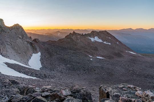 Hiking To Longs Peak Colorado