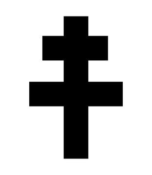 Cross of Lorraine symbol