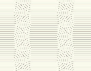 Geometric line pattern background with waves