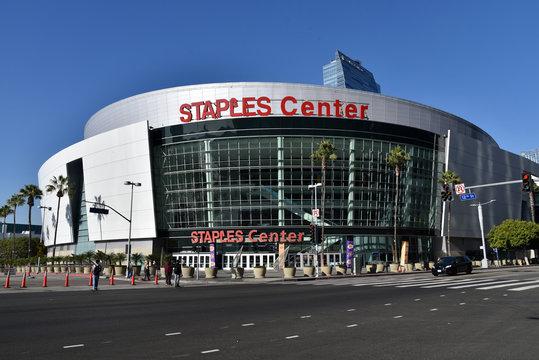 Staples Center Los Angeles Jan 2019