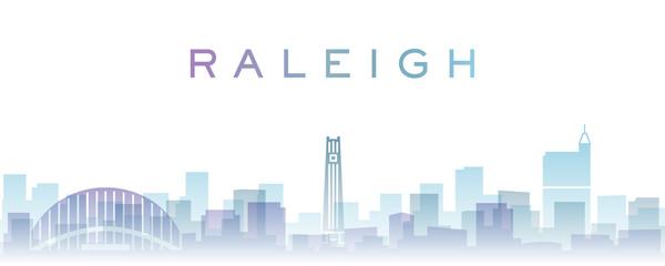 Raleigh Transparent Layers Gradient Landmarks Skyline