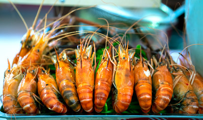 Crayfish for grilling, steaming, and hotpot cooking at meals at restaurants
