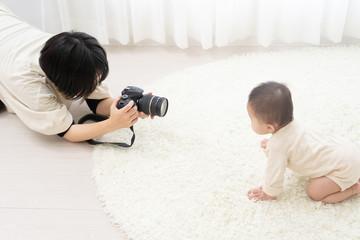 赤ちゃん 育児 撮影