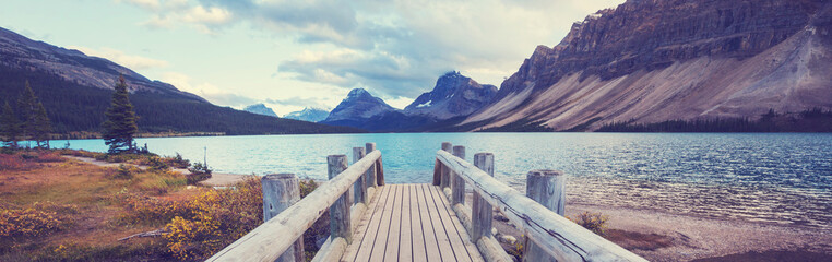 Photo sur Plexiglas Campagne Lake in Canada