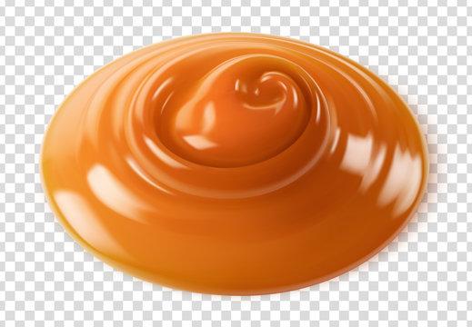 Caramel vectoriel 3
