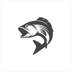 Fish logo vector design icon