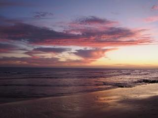 Sonnenuntergang bei Lagos, Portugal