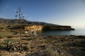 Cala Blanca, es una cala situada en el municipio de Lorca dentro del Parque Natural de Cabo Cope dentro del . El color de la arena es oscura y su composición es principalmente de arena, bolos y grava.