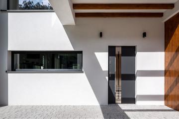Elegant home entrance