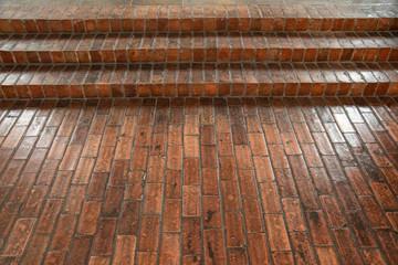 Fototapeta cegła ,schody ,posadzka obraz