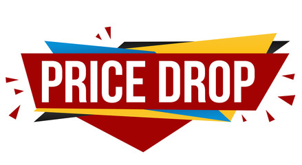 Price drop banner design