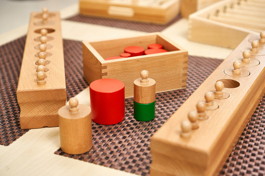 Montessori counting games learning numbers