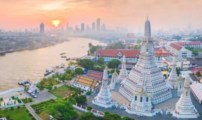 Fotorollo Bangkok High angle view Bangkok Thailand