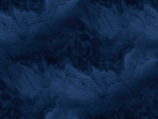 Navy blue marble texture - seamless background