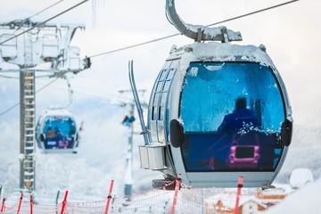 Deurstickers Gondolas Korea.