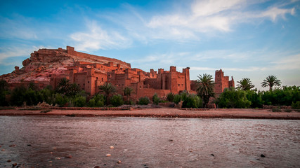 Poster Algérie Fortress and Kasbah of Ait Ben Haddou Morocco